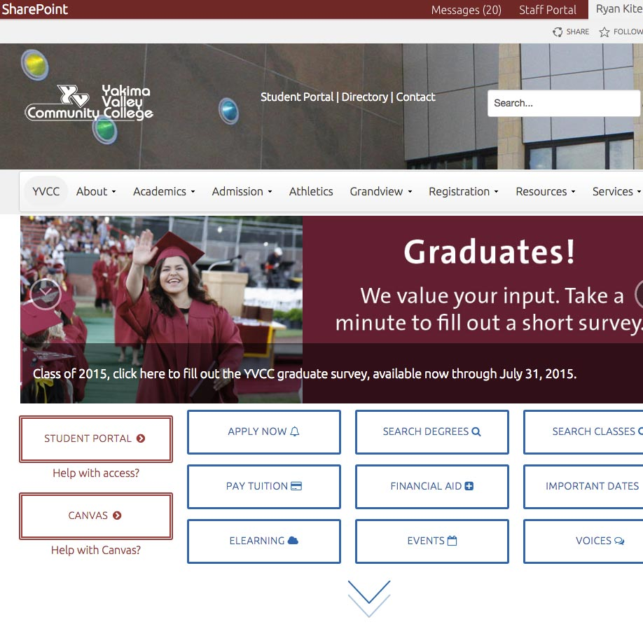 Yakima Valley College Website And Portal